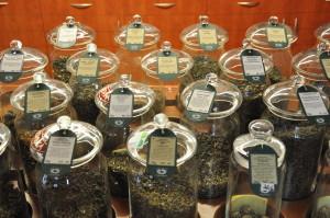 Sortiment čajů